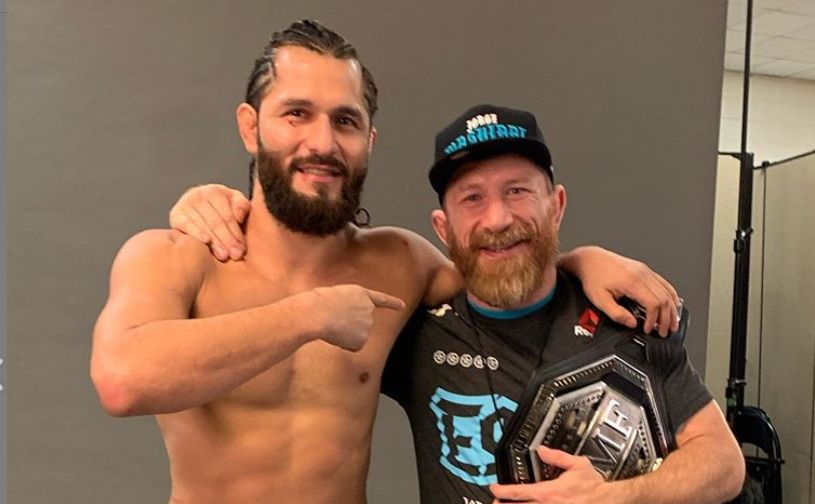 Jorge Masvidal's coach Mike Brown tests positive for Covid-19 - Jorge Masvidal