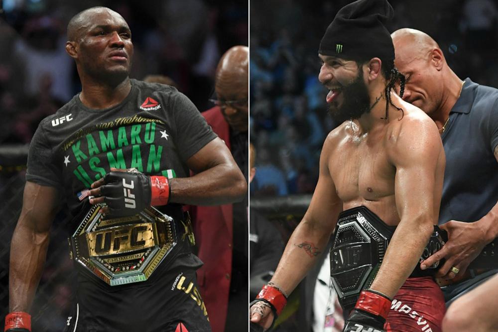Kamaru Usman vs Jorge Masvidal in talks for new main event at UFC 251 - Jorge Masvidal