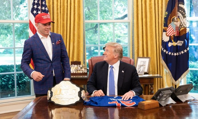 Covington and Donald Trump
