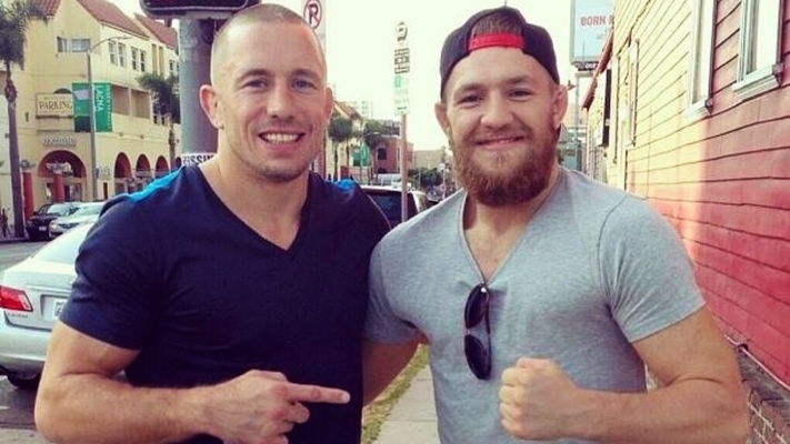 Conor Mc Gregor Georges St-Pierre