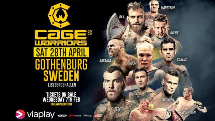 Cage Warriors 93