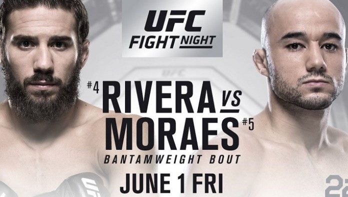 UFC Fight Night 131: Rivera vs. Moraes