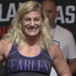 PFL 6 Weigh-in Kayla Harrison