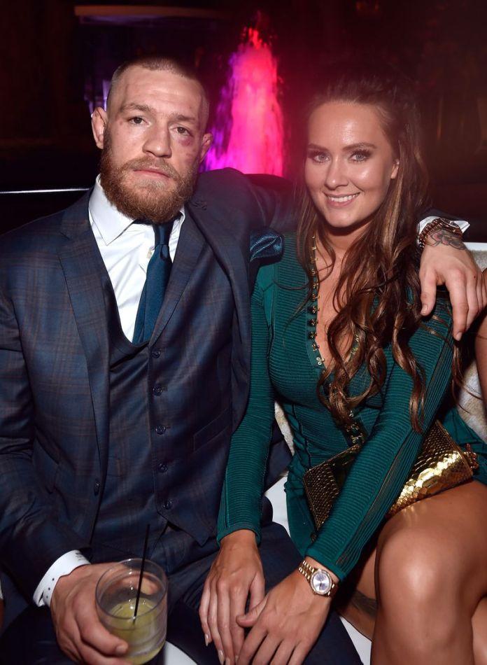 Conor McGregor impreuna cu logodnica sa, Dee Devlin