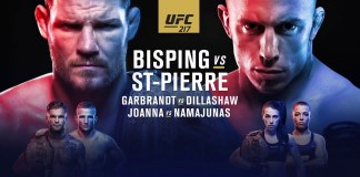 UFC 217 BISPING vs GSP. Ce ne asteapta de la cea mai importanta gala a anului?