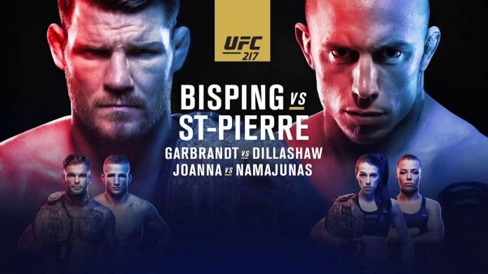 UFC 217 BISPING vs GSP. Ce ne așteaptă la cea mai importantă gală a anului?