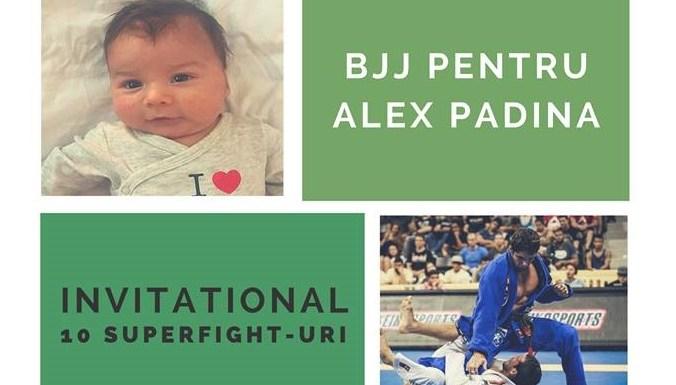 EVENIMENT CARITABIL: Luptăm pentru Alexandru Padină - 10 Superfight-uri pentru a salva o viață!