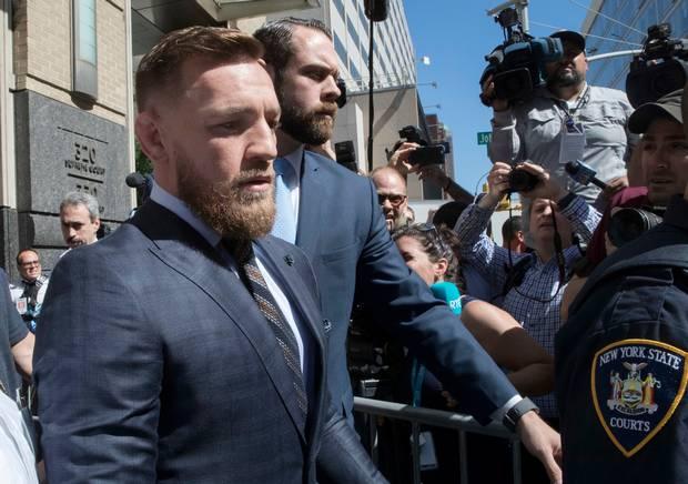 VIDEO. Conor McGregor și-a primit sentința pentru atacul autocarului de la UFC 223!