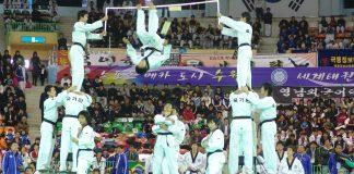 Demonstrație extraordinară de Taekwondo (VIDEO)