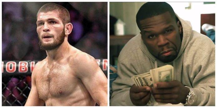 De ce îi oferă 50 Cent 2 milioane de dolari lui Khabib Nurmagomedov?