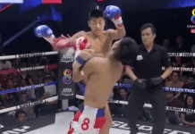 VIDEO. Cel mai brutal KO de la Muay Thai Super Champ