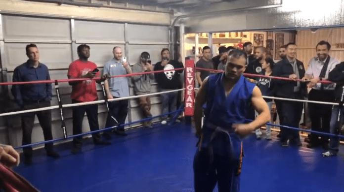 VIDEO. Ce se întâmplă când un luptător de Kung Fu intră în ring cu un fost luptător din UFC?