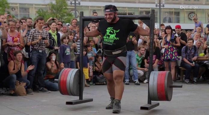 Faceți cunoștință cu Patrik Baboumian, strongmanul vegan (VIDEO)