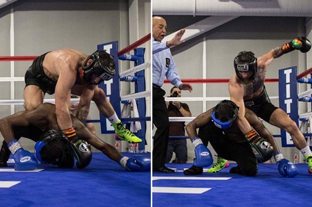 (VIDEO) Sparring nemaivăzut până acum cu Conor McGregor în acțiune!