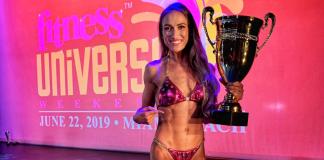 Anca Bucur a castigat titlul de Miss Fitness Univers 2019! (VIDEO)