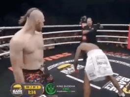 VIDEO. Vezi cel mai brutal KO de la box fără mănuși!