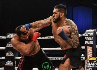 VIDEO. Gigantul 'Bigfoot' Silva a fost făcut KO la box fără mănuși!
