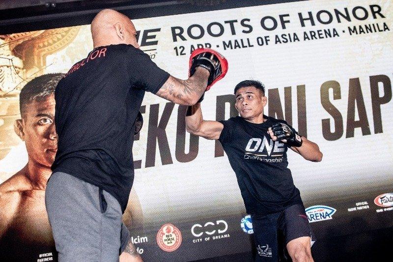 One Championship Hosts Media Day For Eko Roni Saputra In Jakarta