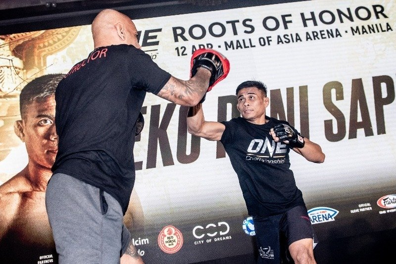 One Championship Hosts Media Day For Eko Roni Saputra In Jakarta
