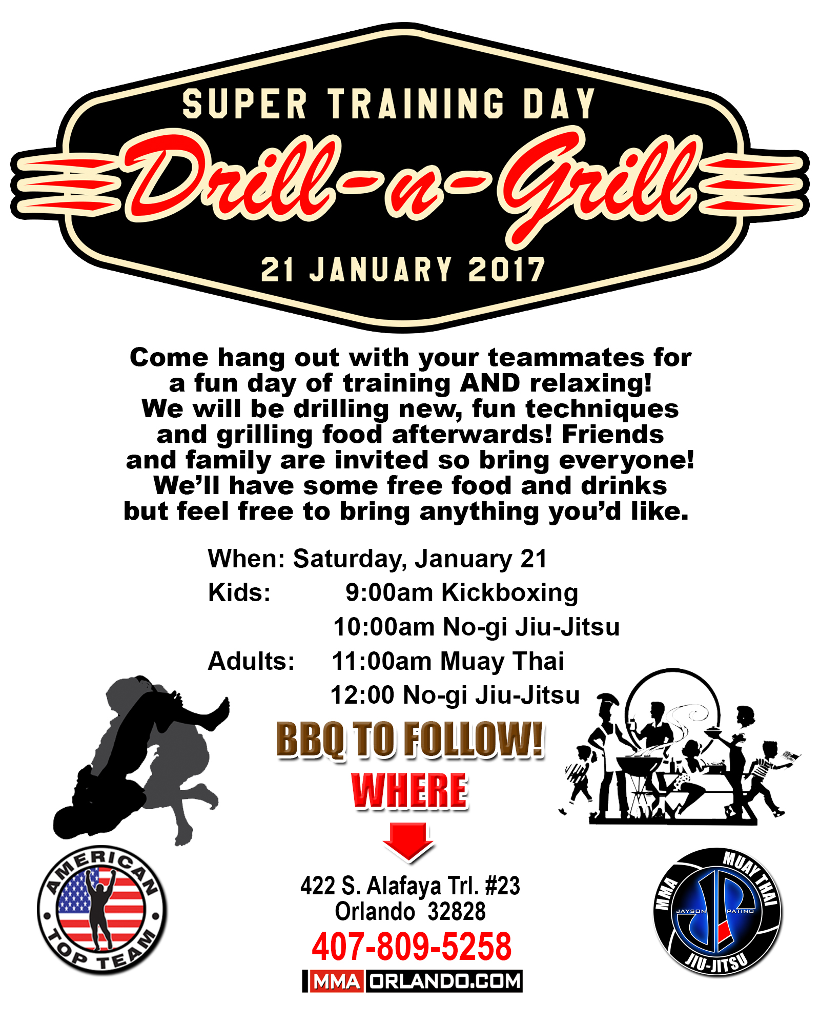 Drill and Grill Super Training Day