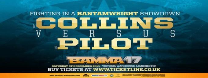 gaz pilot vs. jody Collins BAmma 17