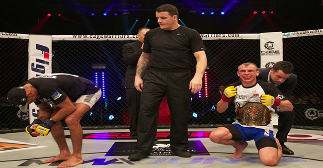 Alex Enlund pips Nad Narimani to featherweight title at CWFC 73