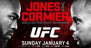 UFC182 Jones vs Cormier