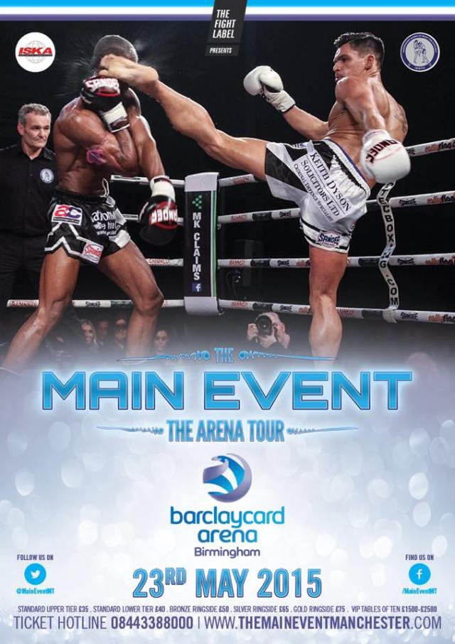 The Main Event Arena Tour