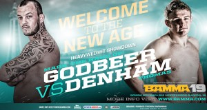 BAMMA 19 Mark Godbeer vs Thomas Denham