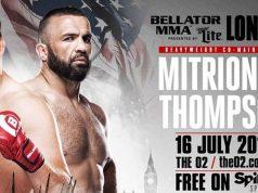 Mitrione vs Thompson headlines BELLATOR 158