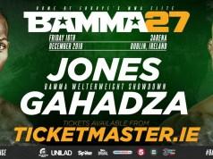 BAMMA 27, Jones