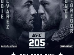 UFC 205 New York McGregor