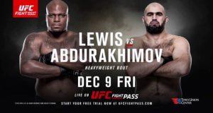 UFC Fight Night 102 Albany Lewis Abdulrakhimov
