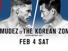 Korean Zombie, Bermudez, UFC Fight Night 104, UFC Houston