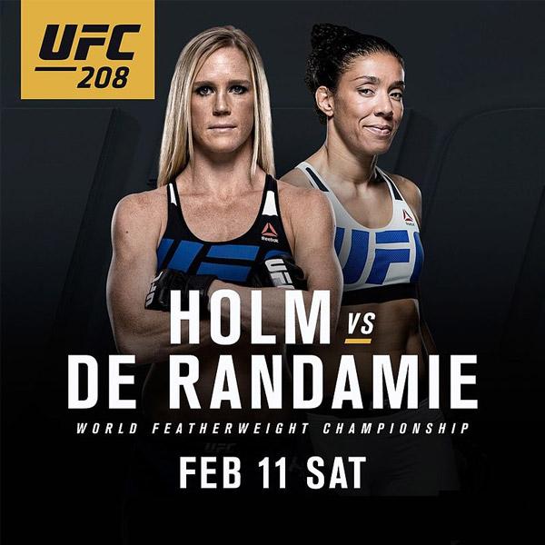 UFC 208 results: Germaine De R...