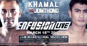 Khamal vs. Jomthong. Enfusion Live 47
