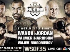 WSOF 35 Shawn Jordan Blagoy Ivanov