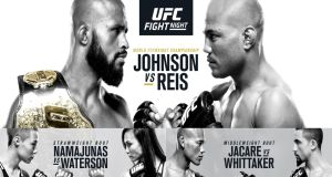UFC on Fox 24 Johnson Reis