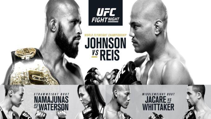 UFC on Fox 24 Johnson Reis