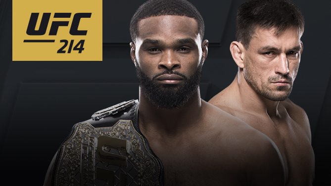 Image result for Tyron Woodley vs. Demian Maia