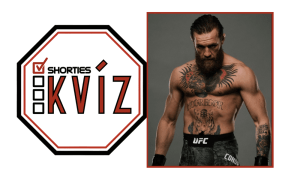 Shorties Kvíz Conor McGregor