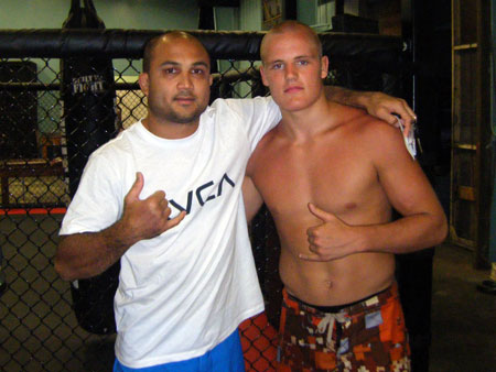 Gunnar was ecstatic meeting MMA legend BJ Penn