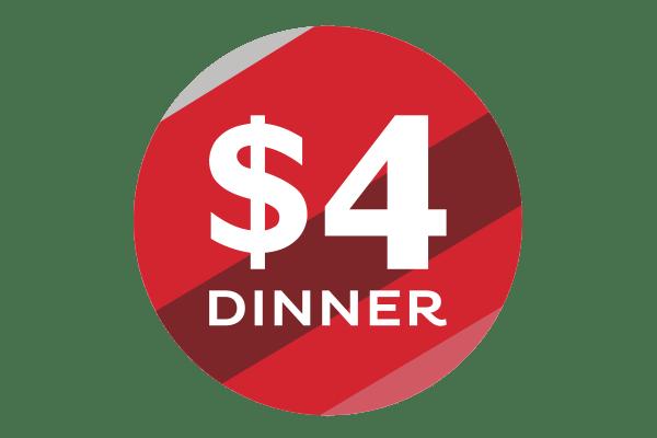 $4 Dinner Menomonie Market Food Co-op