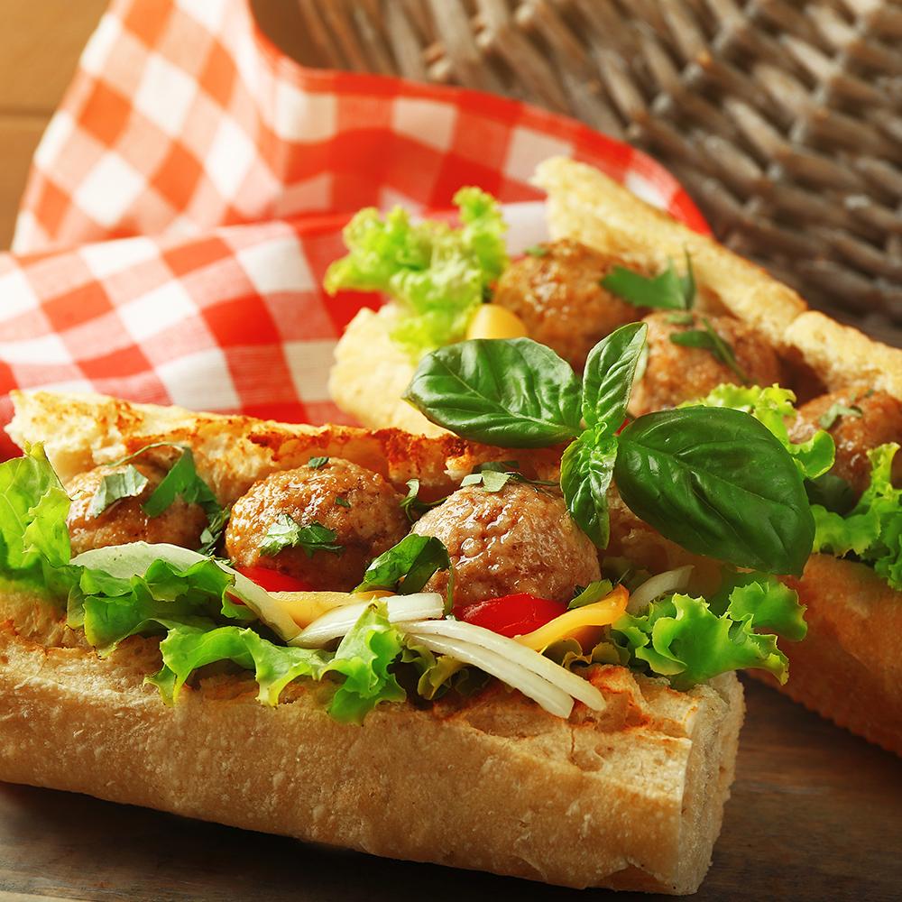 Menomonie Wisconsin Meatball Sub Sandwich