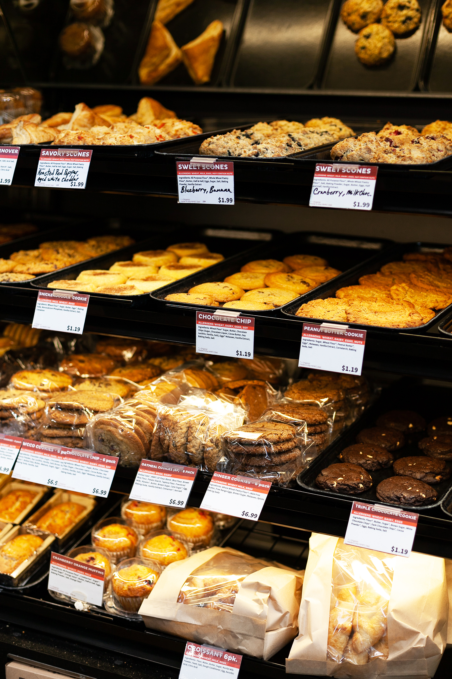 Fresh Baked Desserts Breads Menomonie Wisconsin Bakery