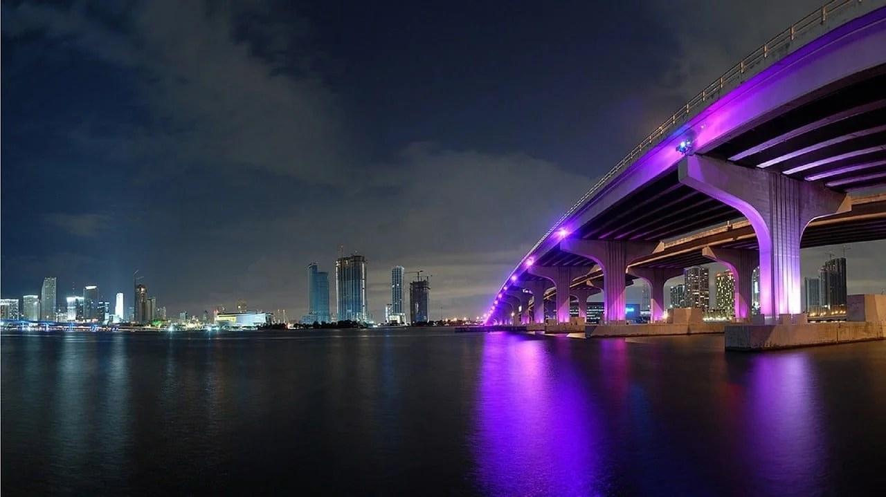 Miami Night Commercial Real Estate