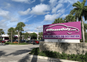Off Lease Only North Lauderdale - Top Retail Transactions South Florida 2020