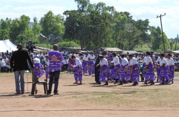 Traditional dancing by MMH staff