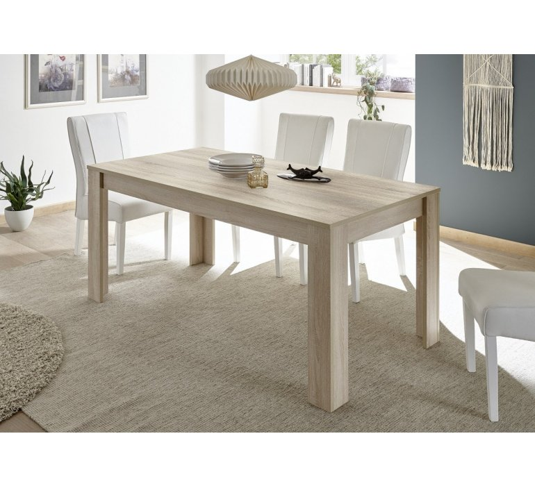 table a manger bois clair moderne vogue