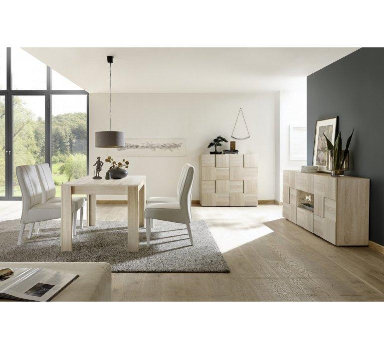 bahut moderne bois clair vogue
